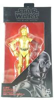 "C-3PO Resistance Base (Dark Red Arm) Star Wars Black Series 6"" Action Figure"