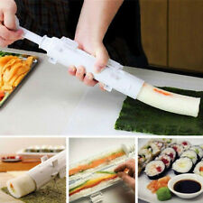 Sushi Bazooka Tool Sushi Roll Maker Kitchen Appliance Gourmet Cooking Tube Mold+