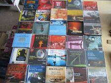 30 x Hörbücher auf CD Krimi und Thriller Sammlung