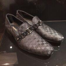 Louis Vuitton Zapatos hombres 100% Auténtico Vidrio Mocasín Zapatos-Talla 8 Reino Unido