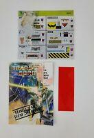 Vintage Hasbro Transformers G1 Construction Stickers Label Unused + Extras