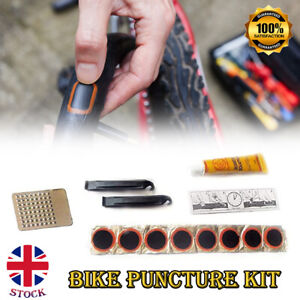Portable Puncture Repair Kit Bicycle Bike Cycle Inner Tube Tyre Tool Patch Glue