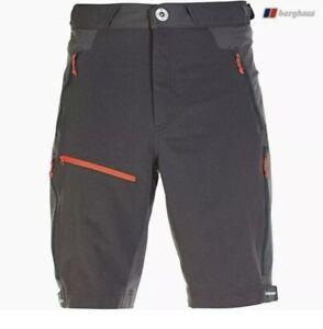 Berghaus Vapour Baggy Shorts Grey Size XXXL Waist 42- Extrem Lightweight £75