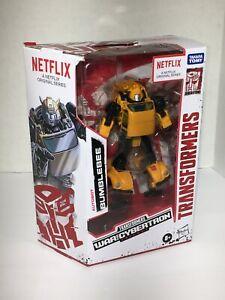 Transformers: Generations WFC Netflix | Deluxe Class Bumblebee Action  Figure