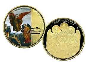 COLOSSAL ARCHANGELS COMMEMORATIVE S COIN PROOF LUCKY MONEY VALUE $139.95