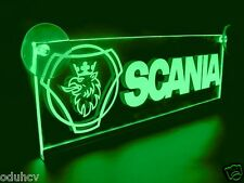 24V LED Interior Cabin Light Green for SCANIA Laser Neon Illuminating Table Sign