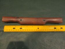 Vintage antique wood & brass plate blade woodwork shaving tool spokeshave Plane