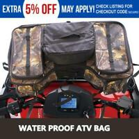 ATV Quad Front / Rear Rack Soft-Luggage Storage ATV Cargo Gear Pack Cargo Bag