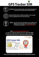 GPS Tracker SIM Card 3-IN-1 - No Contract For 2G 3G 4G Devices - Global Coverage