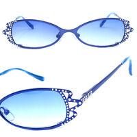 Vintage Fashion Bling Rhinestone WOMEN'S Sunglasses Star Diamond Crystal LUXURY