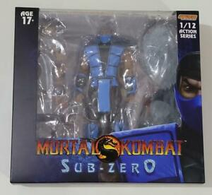 "Storm Toys Collectible 6"" Mortal Kombat Sub Zero 1:12 action figure"