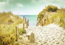 Vlies Fototapete XXL Tapete Wohnzimmer Meer Strand Strand und Tropen Wandtapete