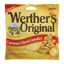 NEW SEALED WERTHER'S ORIGINAL CARAMEL HARD CANDIES 5.5 OZ FREE WORLDWIDE SHIP