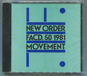 NEW ORDER * MOVEMENT * 1981 * CD * NEW & SEALED