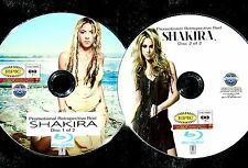 SHAKIRA Promo Retrospective Reel 43 Music Videos 2 BLU-RAY DVD Set FREE SHIPPING