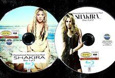 SHAKIRA Promo Retrospective Reel 43 Music Videos 2 BLU-RAY DVD Set FREE SHIPPING