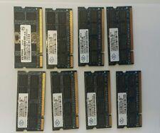 16GB (8 x 2GB) 2Rx8.PC2 6400S-666 Laptop/Notebook RAM Memory .