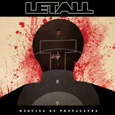 Letall - Maquina de Propaganda (CD, 2016, Digipak) Brazilian Hardcore Punk, NEW