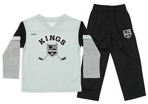 Reebok NHL Kids Los Angeles Kings Forward 2 piece Pant Set, Black