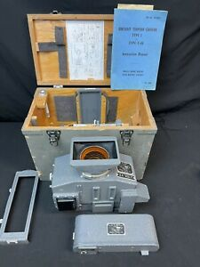 """Aircraft Torpedo Camera, Type 1, F46, Complete, Very Good Condition,5"""" f4.5 Lens"""