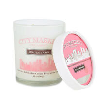 Boulevard City Market Ice Cream Flavour Scented Candle Cherry Jubilee