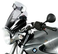 MRA VarioTouringScreen VTNB Universal Motorcycle Windshield   Smoke Grey