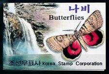 [98846] Korea 2002 Insects Butterflies Booklet MNH