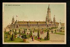 St. Louis World's Fair 1904 postcard PMC Industries Building Tuck #6031