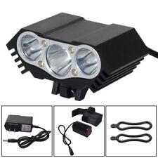 12000Lm 3 x CREE XM-L T6 LED 3 Modes Bicycle Lamp Bike Light Headlight Cycling