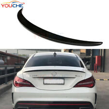 Carbon Fiber AMG Boot Lip Trunk Spoiler for Mercedes W117 CLA200 CLA250 45 AMG