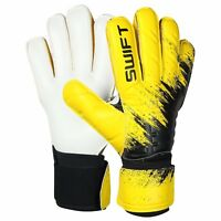 Swift Wears Goalkeeper Flat Roll negative Cut Goalie Gloves Football Size 8/9/10