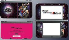 Kingdom Hearts 3D Dream Drop Distance Video Game Decal Skin New Nintendo 3DS XL