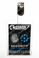 Iron Man Stark Industries Security ID Badge Cosplay Prop Costume Gift Comic Con