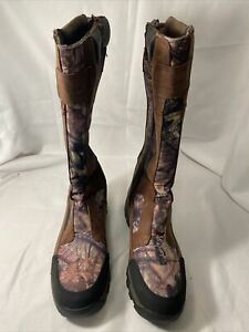 Field & Stream Men's Side-Zip Snake Boots Size 13