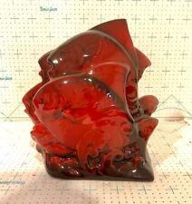 "Royal Doulton Flambe Figurine ""A Shoal Of Fish�"