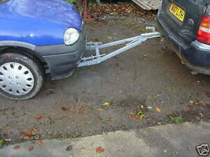 1.8T SINGLE PERSON SOLO USE  CAR RECOVERY A FRAME TOWING DOLLY TRAILER AFRAME