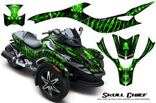CAN-AM BRP SPYDER RS GS GRAPHICS KIT CREATORX DECALS WRAP SCG