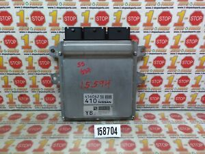 2011 2012 2013 INFINITI G37 ENGINE COMPUTER MODULE ECU ECM BEM390-000 A1 OEM