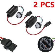 2x 7440 T20 LED Bulb Warning Error Canceller Load Resistor Hyper Flash Decoder T