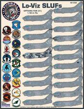 """1/48 Furball  A-7E """"Lo-Viz SLUFs"""" Decals for the Hasegawa Kit"""