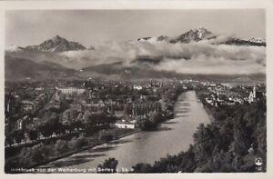 Innsbruck von der Weiherburg mit Serles und Saile gl1930 E9632