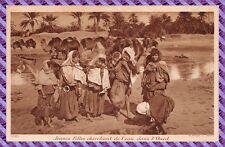 Cartolina - Jeunes filles alla ricerca di de l'acqua nel l' Oued