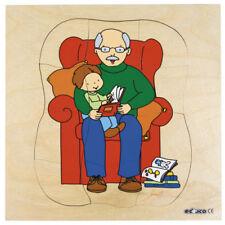 Educo abuelo crecimiento Rompecabezas-Bebé, Niño, Hombre, abuelo-Nuevo y Sellado