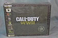 Call of Duty WWII Sealed Collectibles Box Activision CultureFly Wallet Dog Tags