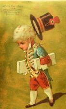 Lot Of 4 Ira C. Stockbridge Music Store Children In Costumes Jockey P85