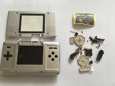 Austausch Ersatz Komplett Gehäuse für Nintendo DS NDS in Silver