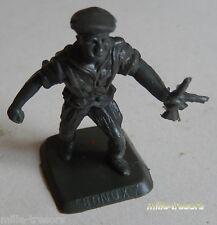 FIGURINE publicitaire Soldat BONUX avec mitraillette - PARACHUTISTE au COMBAT
