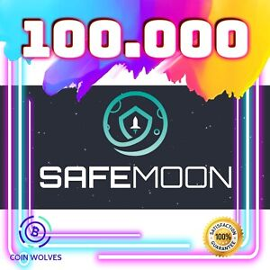 100,000 SafeMoon (SAFEMOON) - MINING CONTRACT - Crypto Currency
