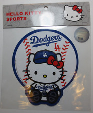 Sanrio Hello Kitty MLB : LA Dodgers Baseball Decal Sticker