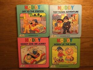 4 x Enid Blyton Noddy Board Books